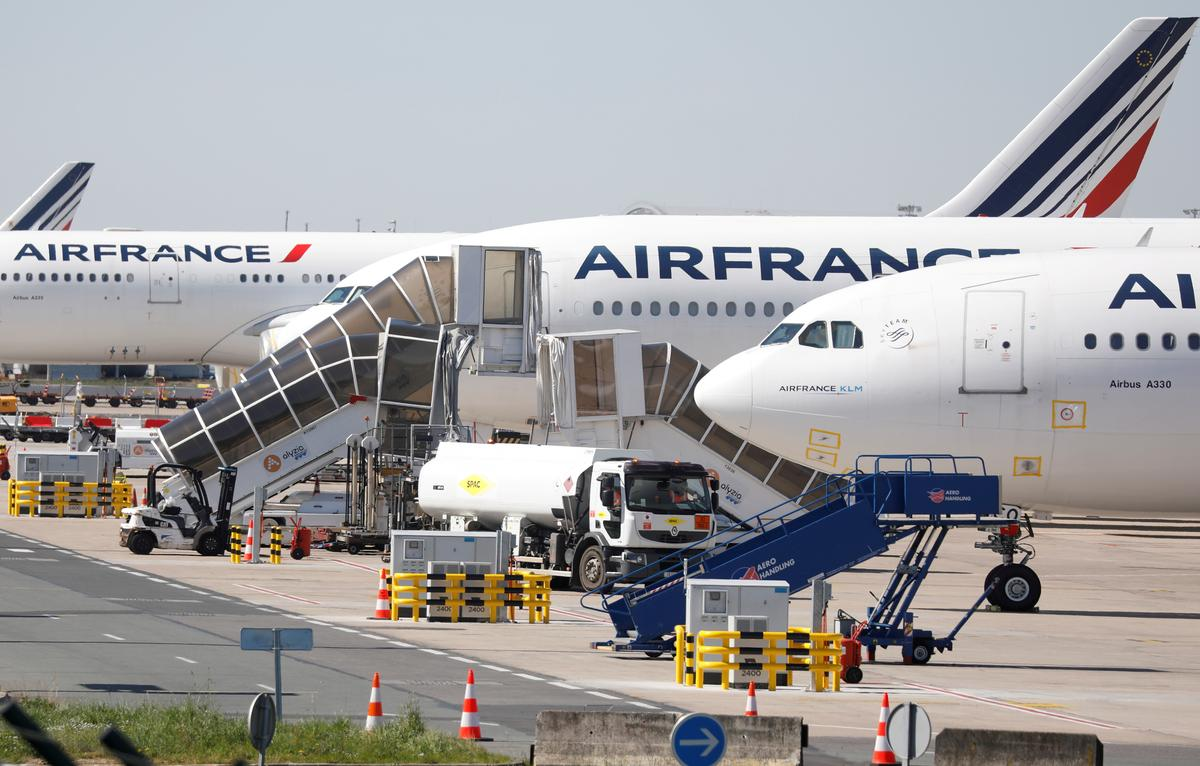 Air France in talks with French govt over emergency funding: Les Echos