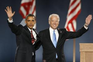 Biden and Obama over the years