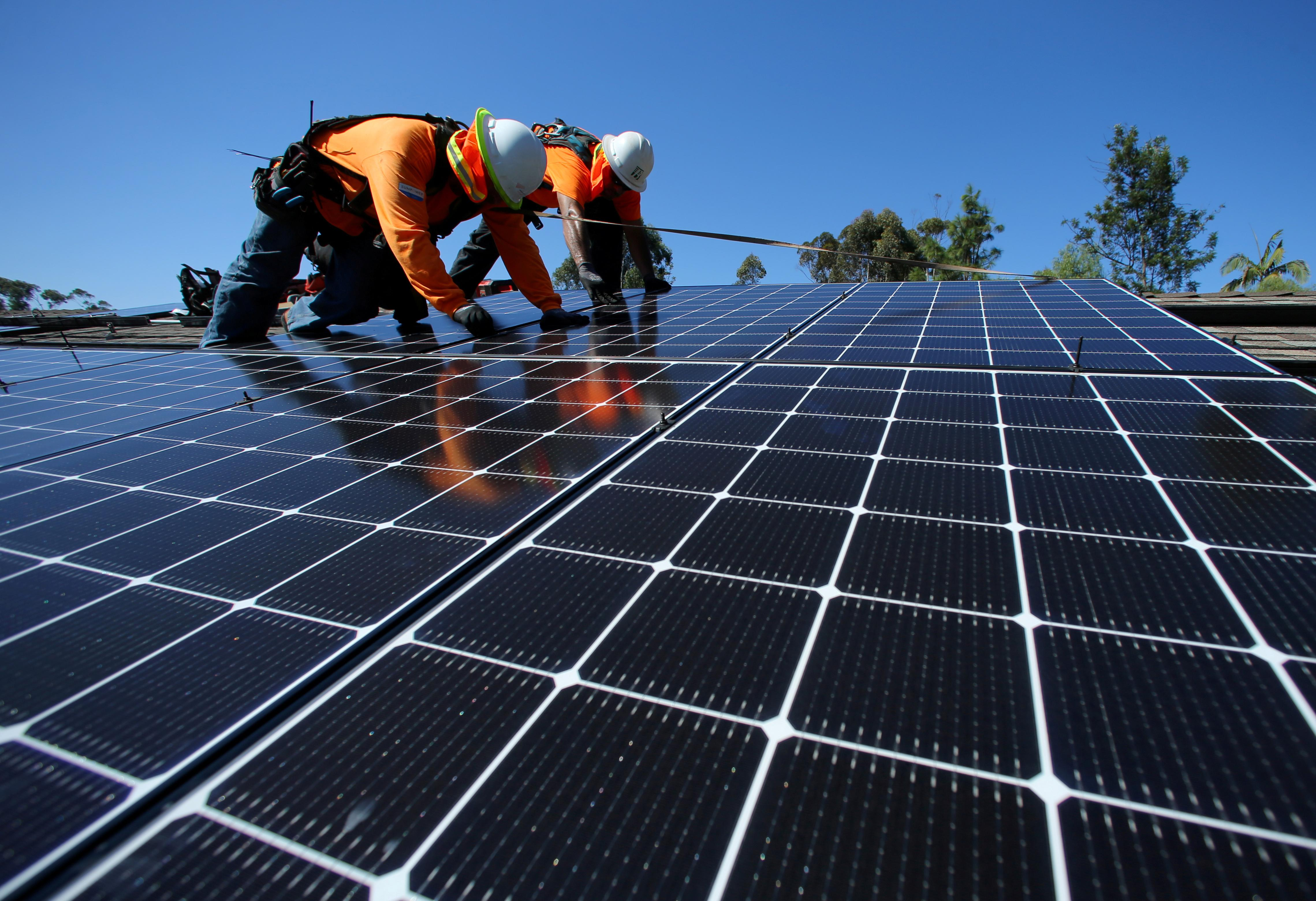 Clean energy shed 106,000 U.S. jobs in March, erasing a year of gains