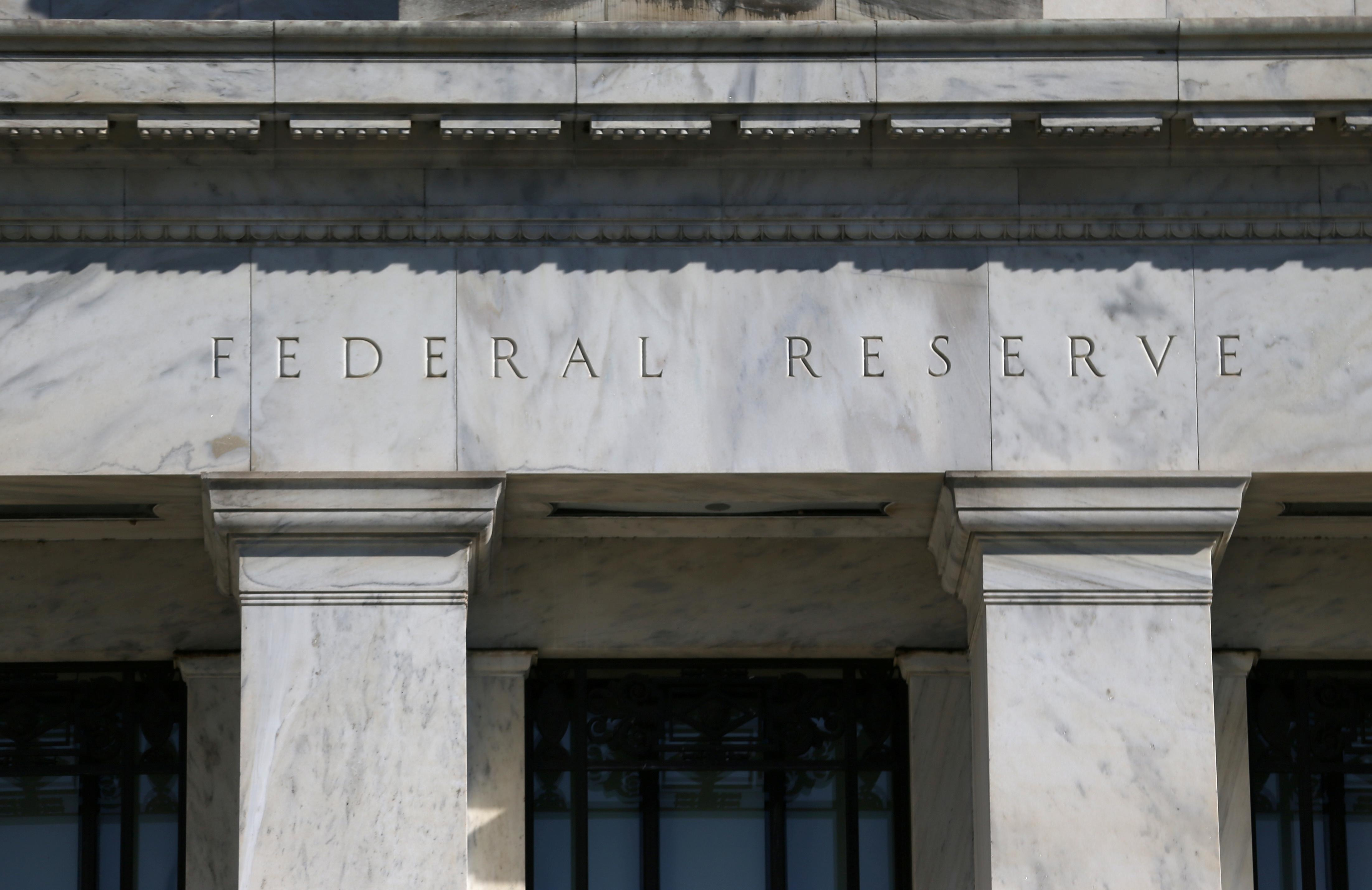 Federal Reserve Board building on Constitution Avenue is pictured in Washington, U.S., March 19, 2019. Leah Millis