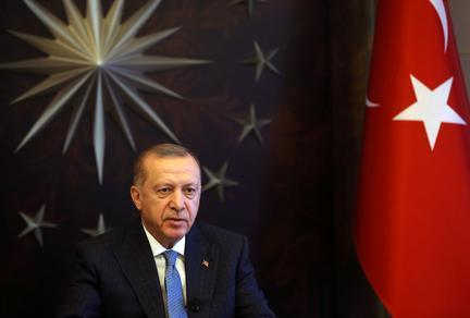 Turkey targets return to normal toward end of May, Erdogan says