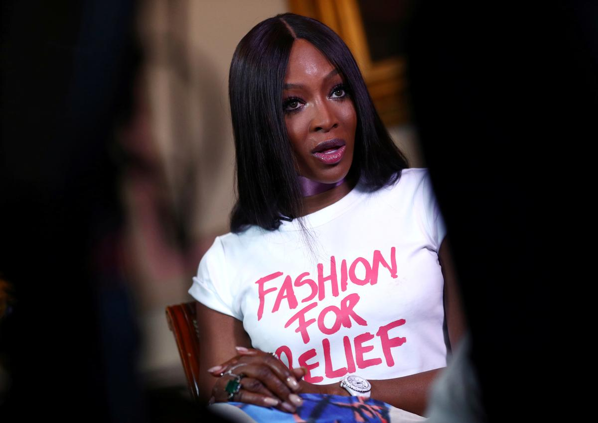 Naomi Campbell - from catwalk queen to chat show host