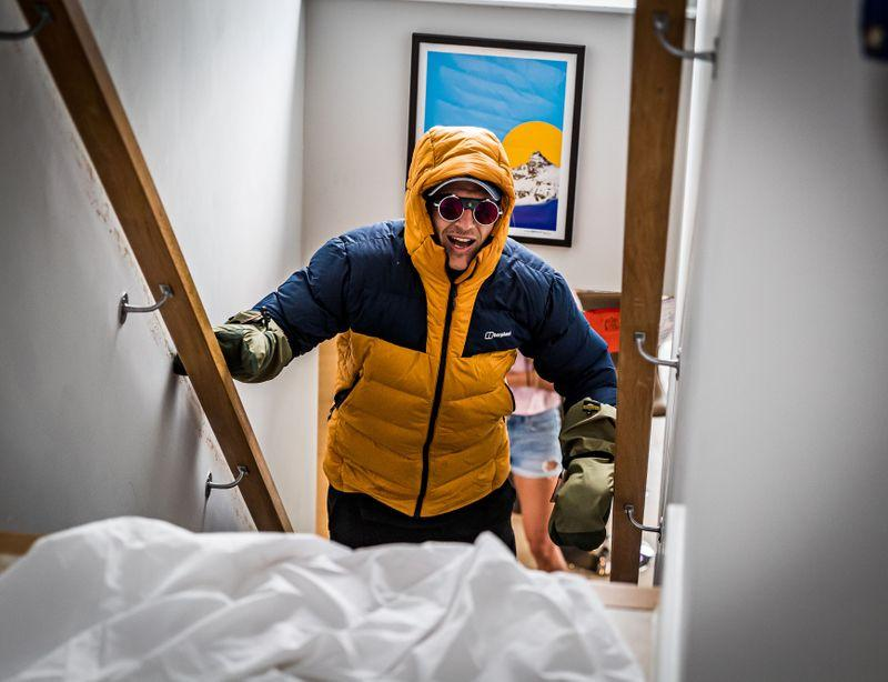 Quadriplegic ex rugby player raises money by climbing 'Everest' up ...