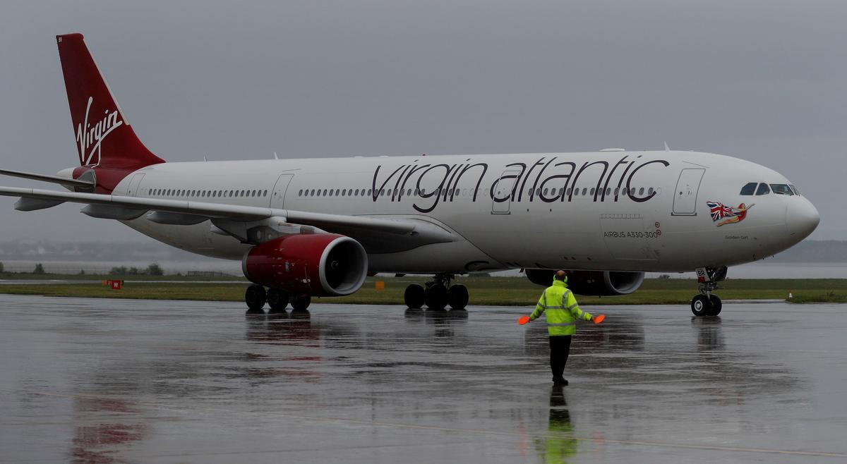 Virgin Atlantic says still talking with UK government on coronavirus funds