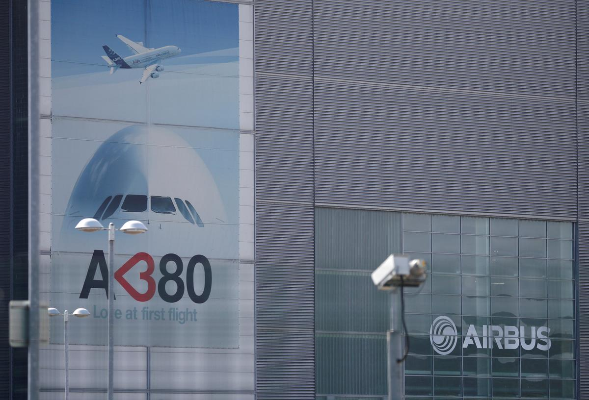 Airbus to furlough 3,200 staff at Broughton factory in Wales
