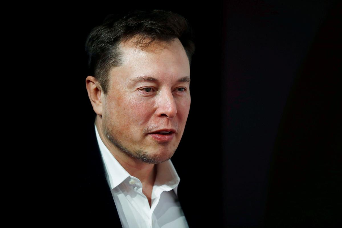 Tesla tumbles after tweet from Musk account saying stock too high