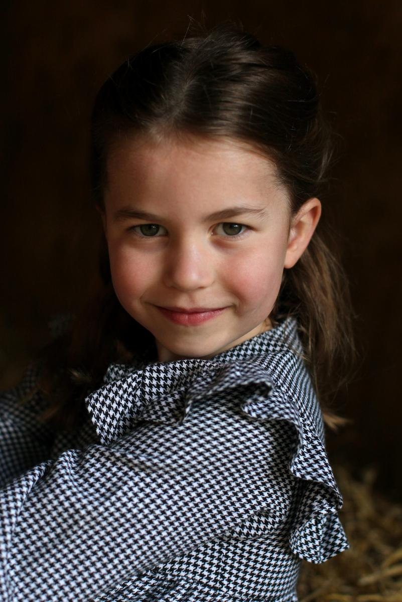 UK's Princess Charlotte celebrates her fifth birthday