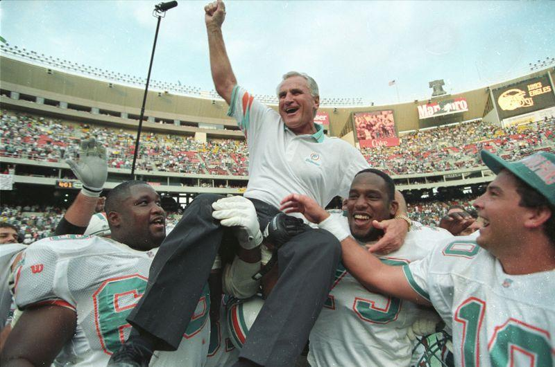 Dolphins Hall of Fame Coach, NFL's Winningest Coach Don Shula Dies at 90
