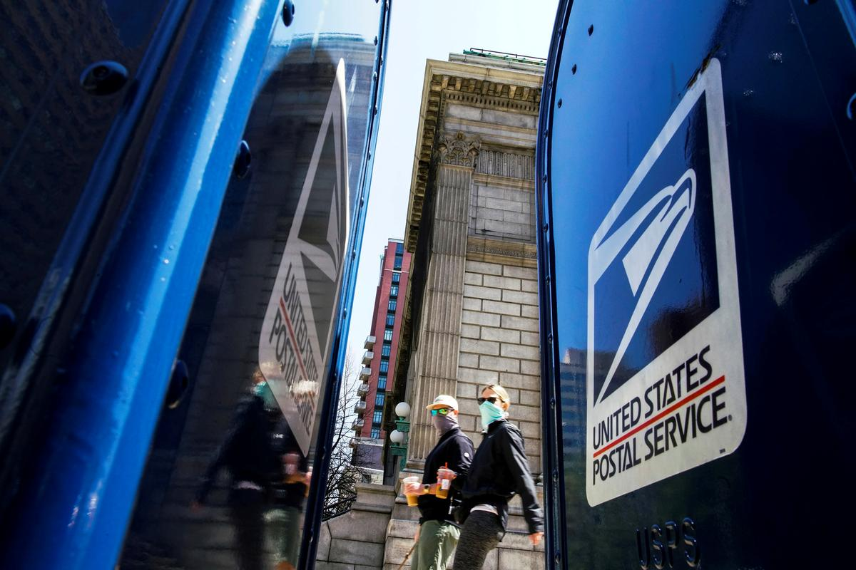 U.S. post office loss doubles as it warns COVID-19 will hit its finances