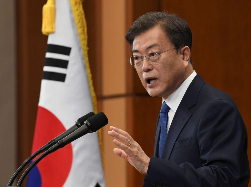 Presidente surcoreano Moon advierte de segunda ola de COVID-19 ...