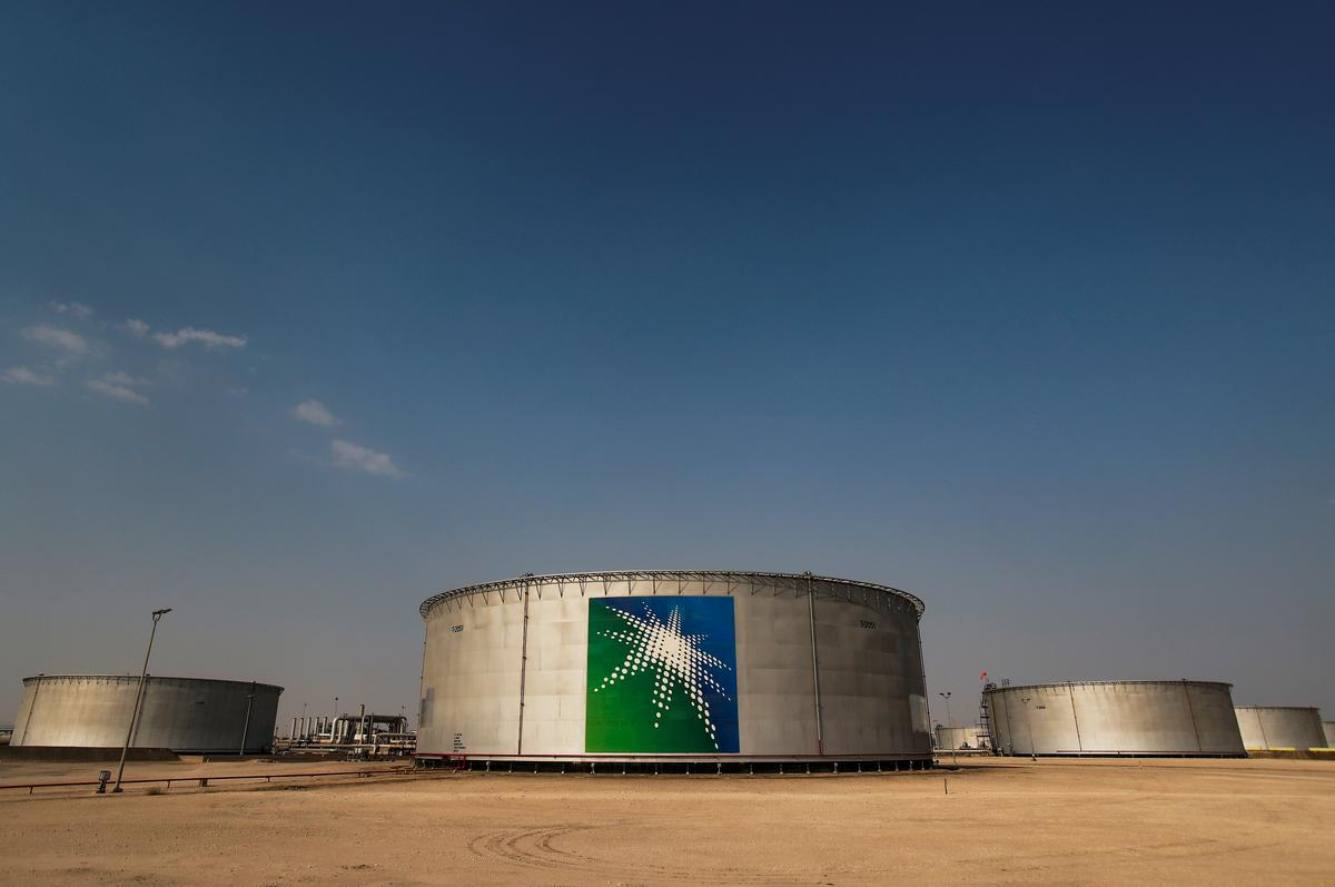 Saudi Aramco first-quarter net profit slides 25% as oil prices fall
