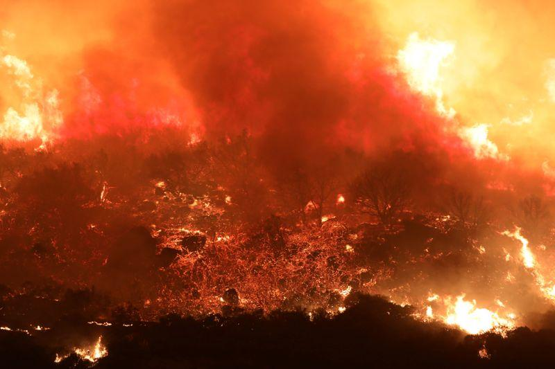 More Than 200,000 People Asked to Flee Their Homes as Massive Wildfires Continue to Burn Across California