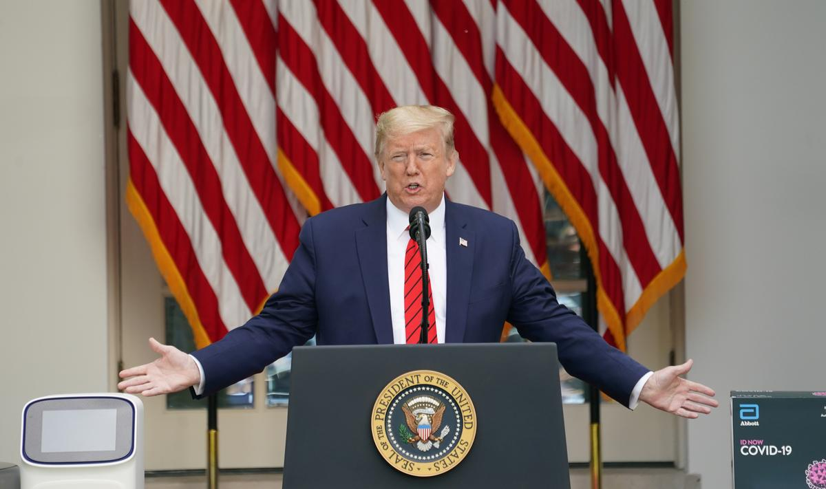 Trump cheers Wisconsin ruling as tensions flare over coronavirus lockdowns