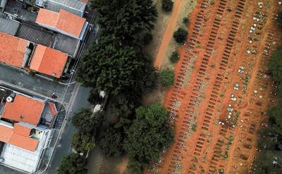 Brazil's biggest cemetery buries coronavirus victims