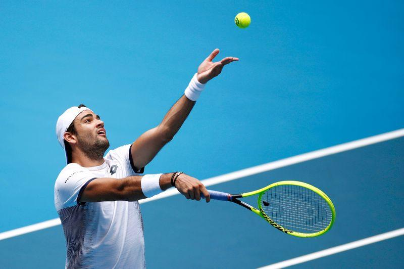 Not players' job to help fellow professionals - Berrettini