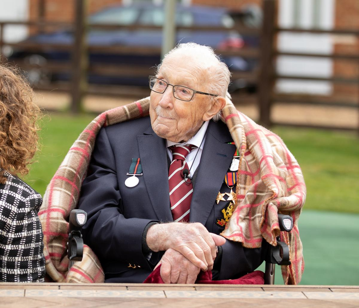Arise, Sir Tom: veteran hopes queen is not 'heavy' with the sword