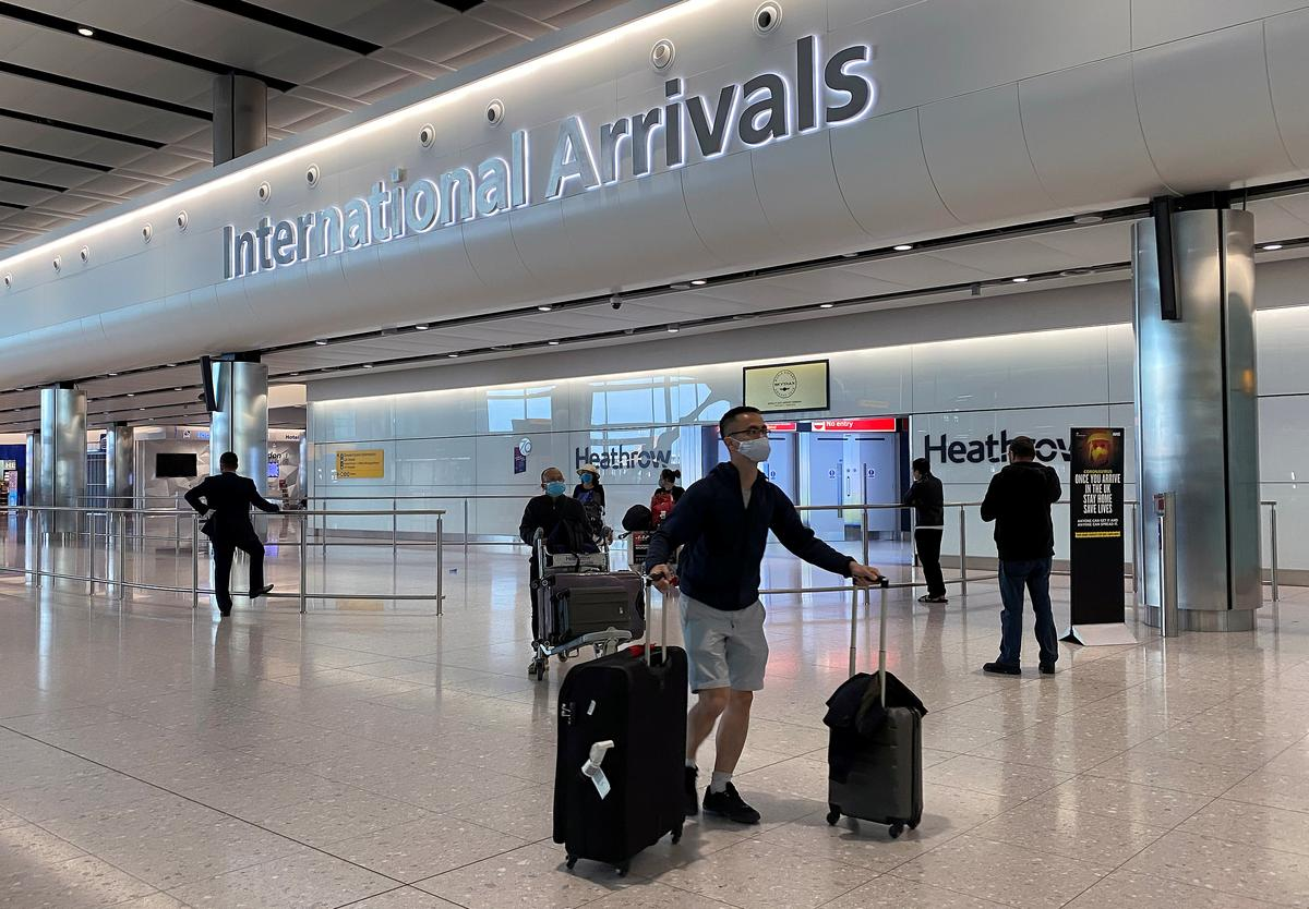 UK still working out quarantine plan for people entering country