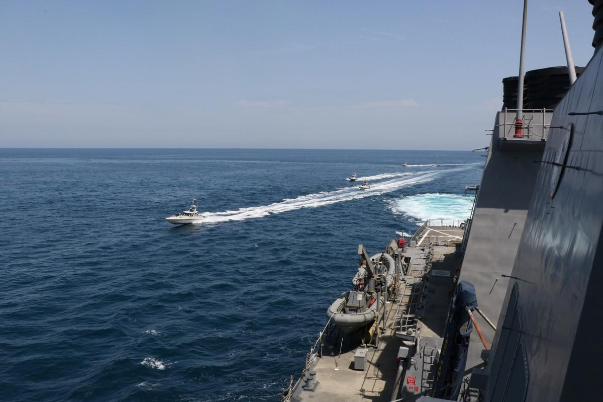 After U.S. warning, Iran says its navy will still operate in Gulf