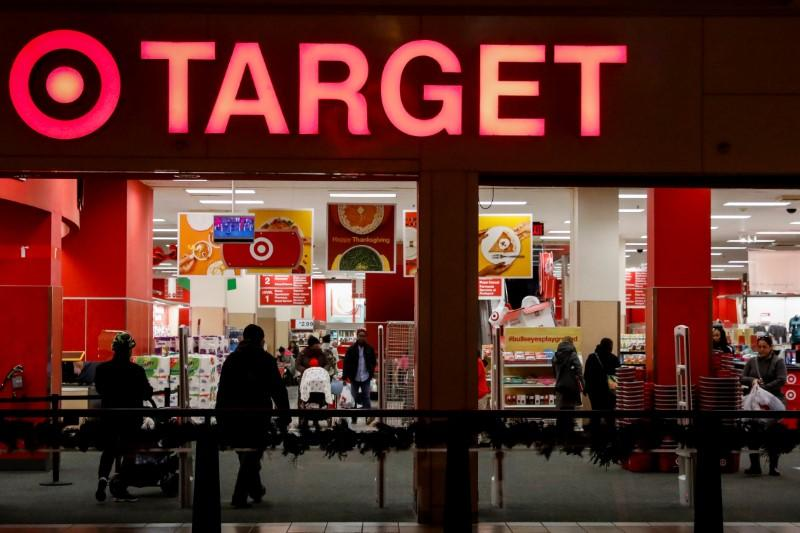 Target's online sales surge eases coronavirus pain