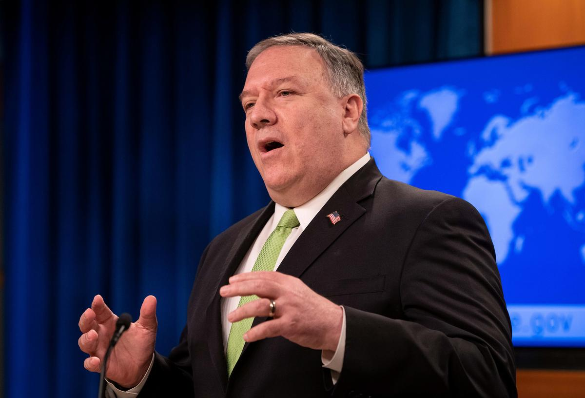 Pompeo: HK's treatment of activists makes autonomy assessment more difficult