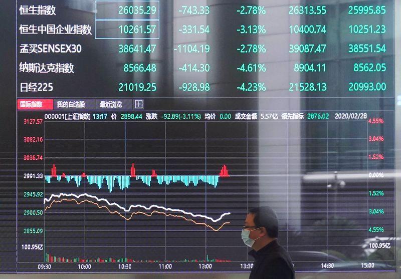 Borsa Shanghai chiude in ribasso, pesano tecnologici