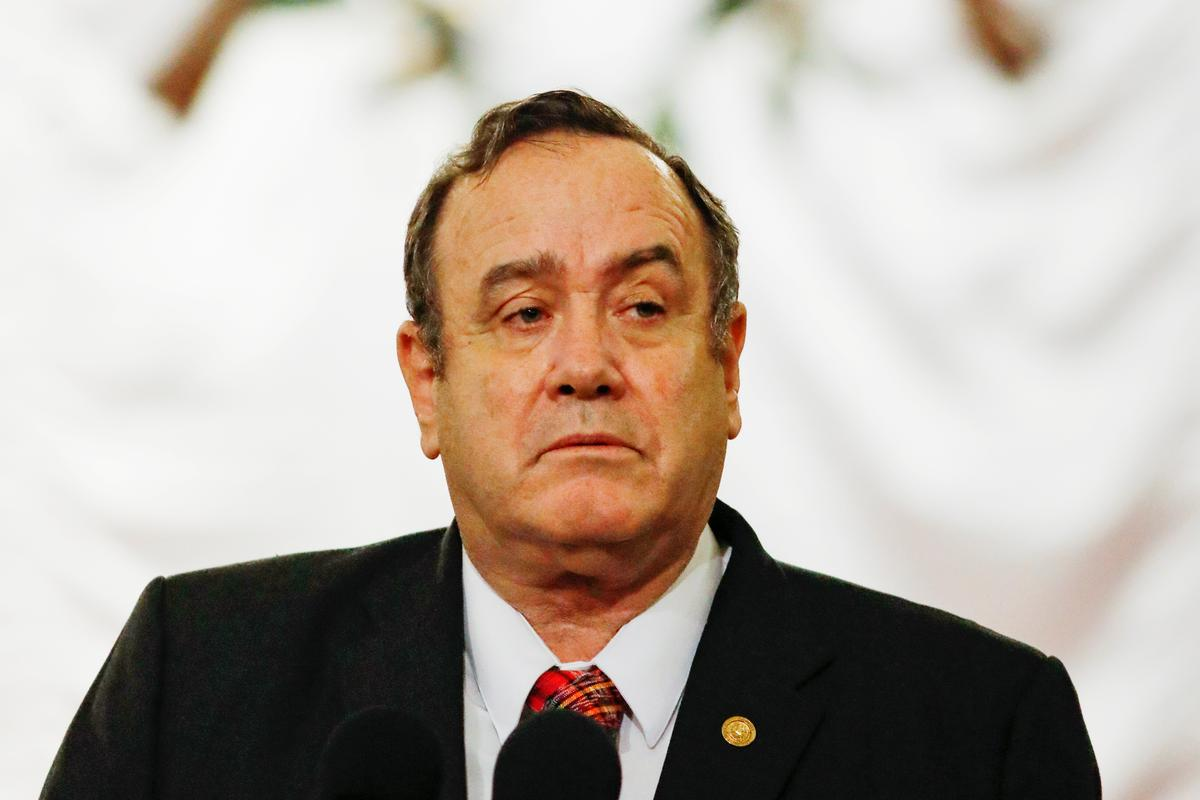 Guatemala president scolds U.S. for deporting migrants with coronavirus