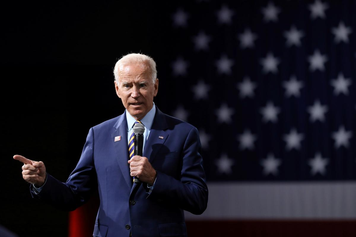 Biden says U.S. should lead world in condemning China over Hong Kong actions