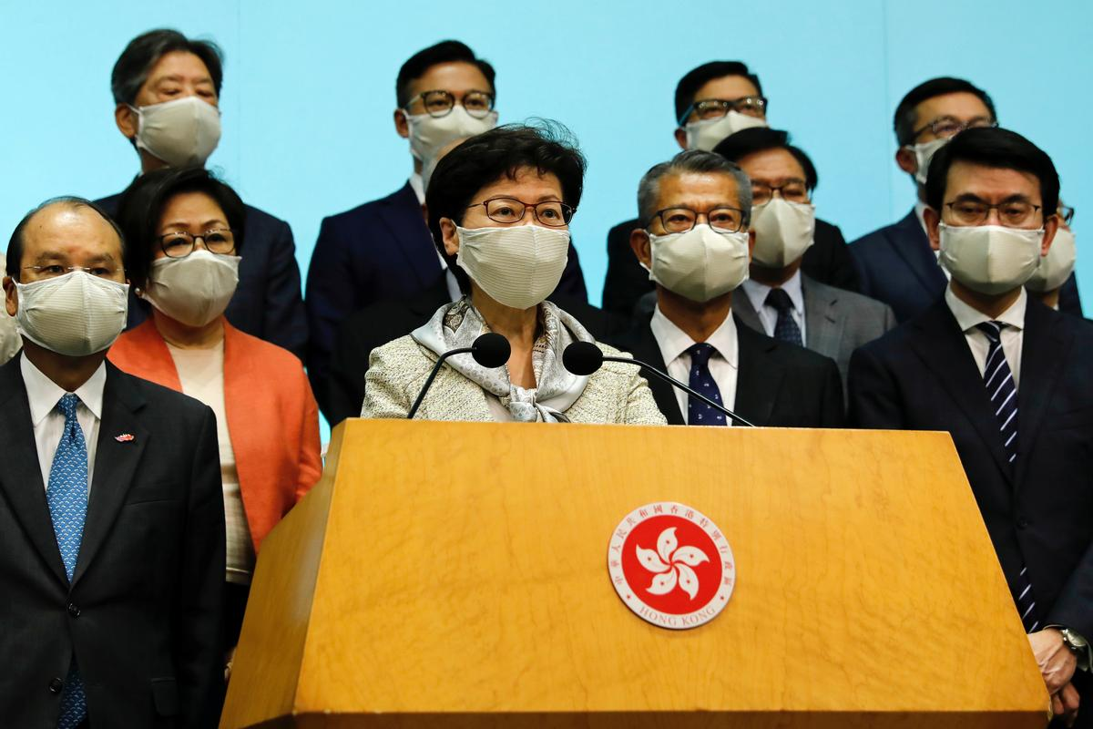 Hong Kong's pro-Beijing politicians say national security law good for business