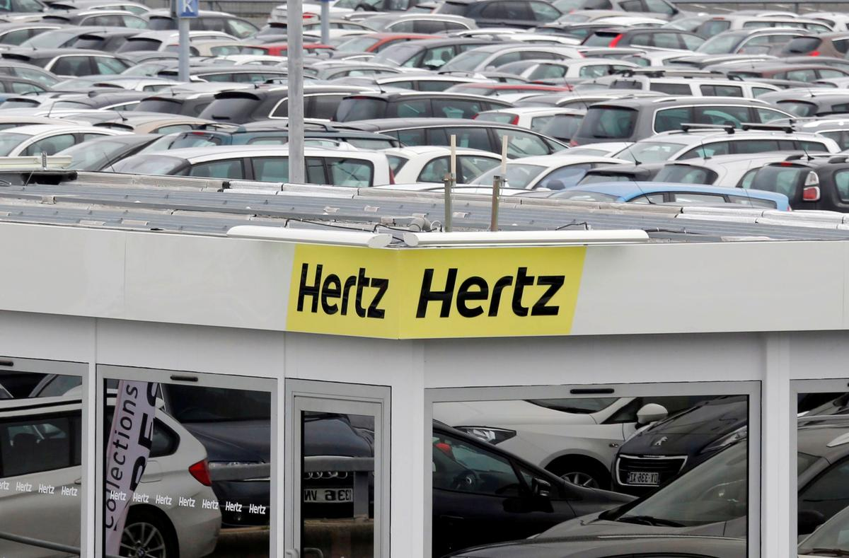 Hertz files for U.S. bankruptcy protection as car...