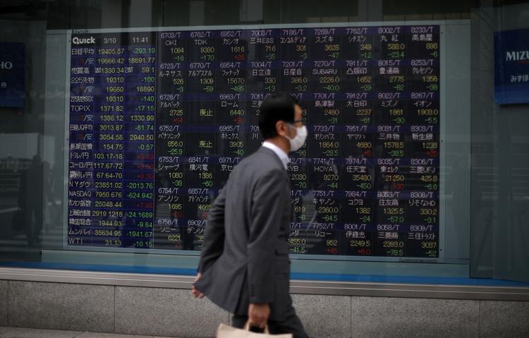 GLOBAL MARKETS-Stocks gain as German survey fuels optimism; dollar firm