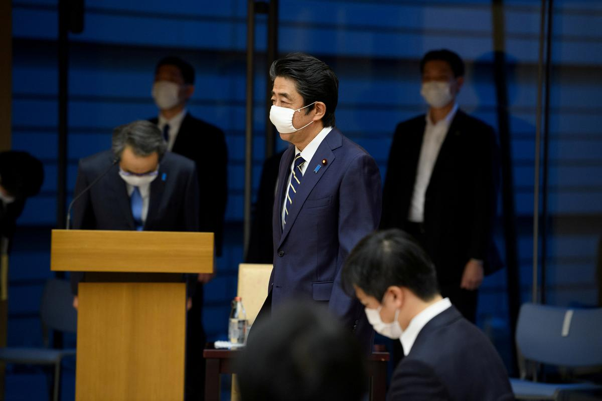 'Own goals' cost Abe support even as coronavirus emergency lifted