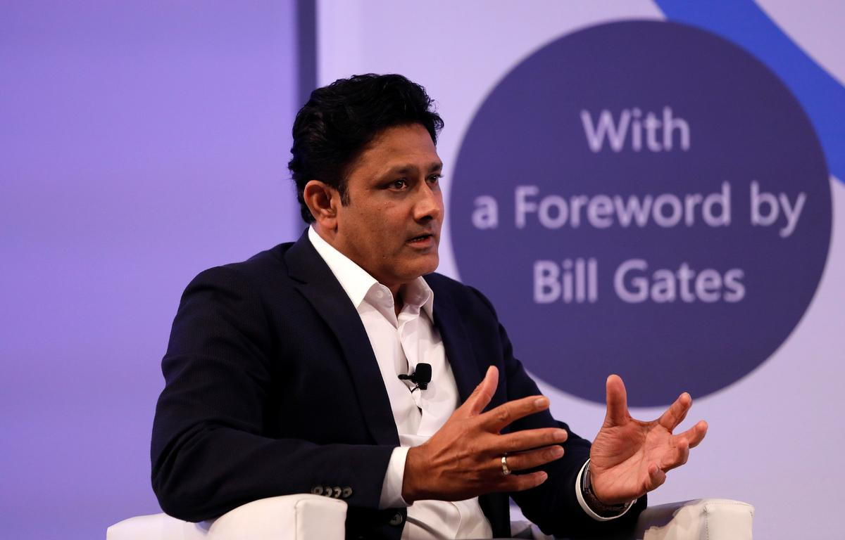 Saliva ban would be temporary, says ICC's Kumble