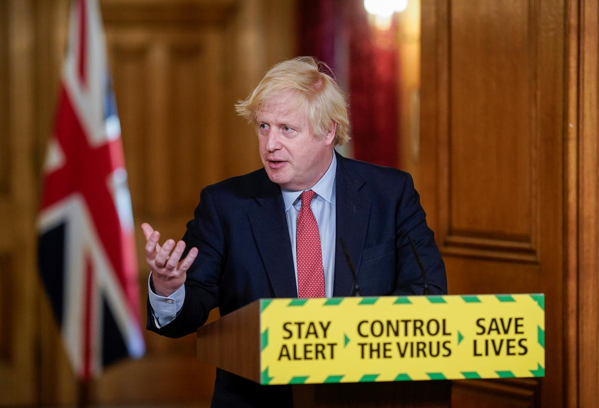 UK to reopen thousands of shops in easing of coronavirus lockdown: Johnson