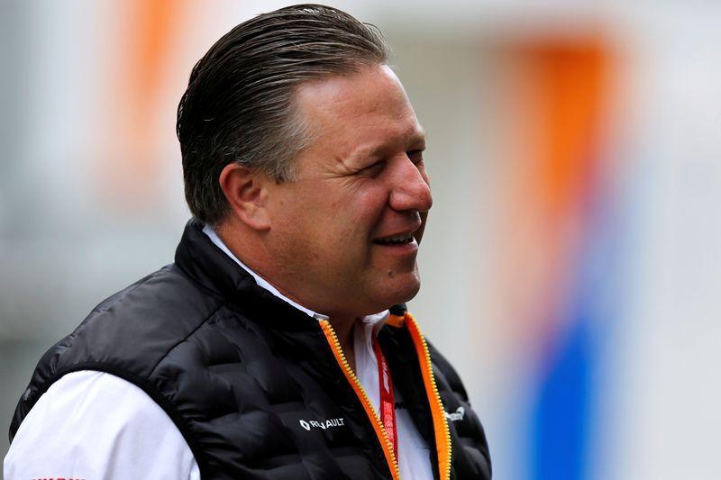 McLaren chief open to Ricciardo racing at Bathurst 1000