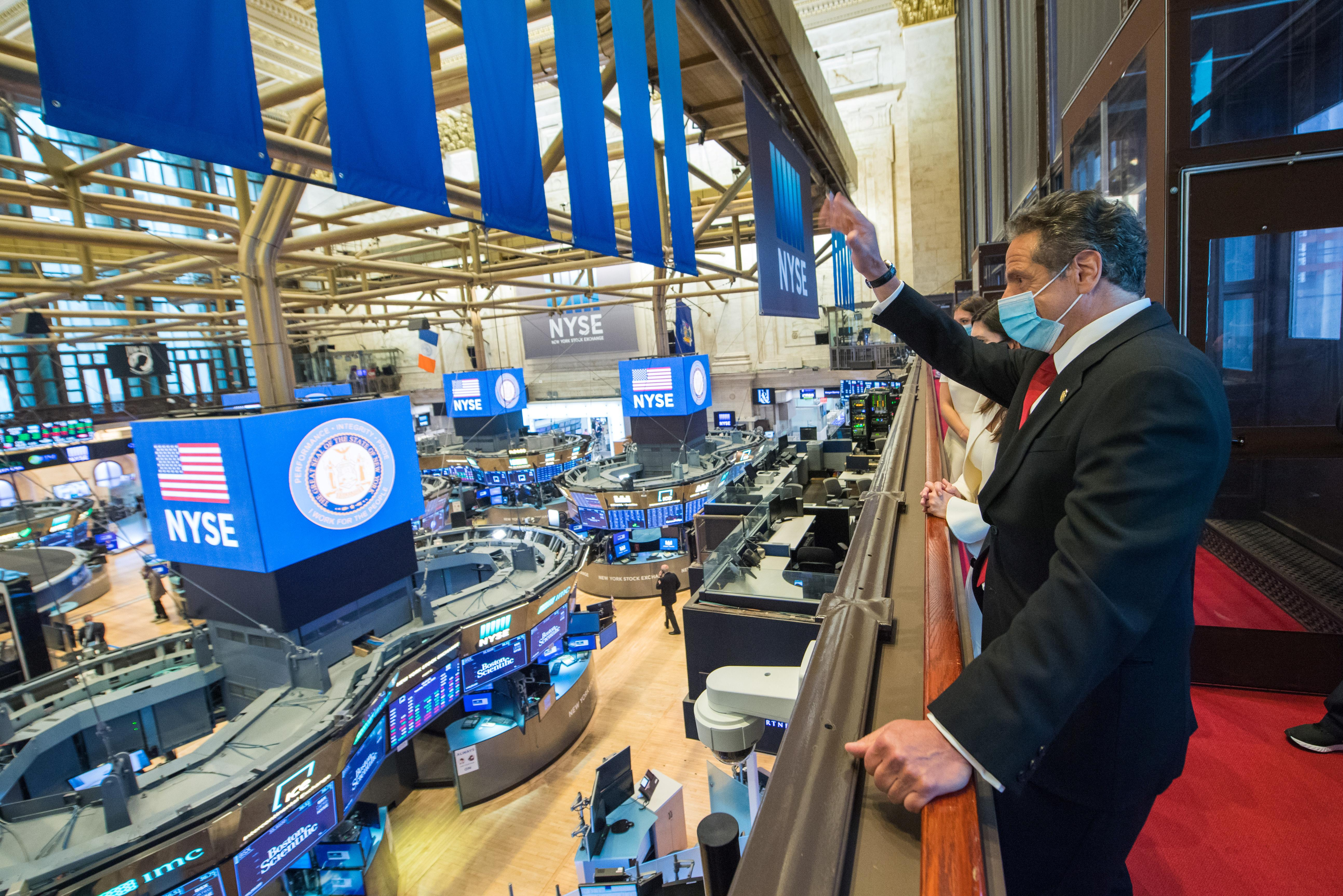 NYSE reopens trading floor after two