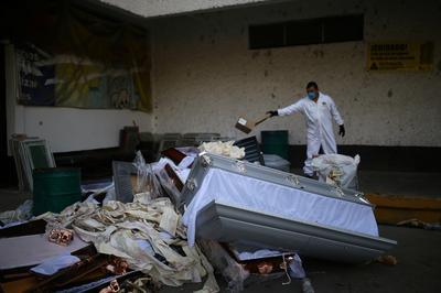 Mexico's rising coronavirus toll