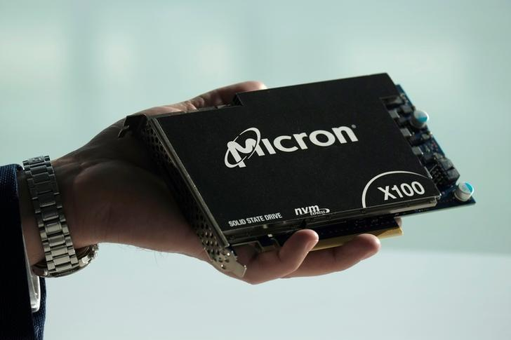 Micron raises third-quarter revenue forecast