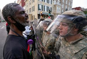 Protests continue in Washington as Trump threatens to deploy military