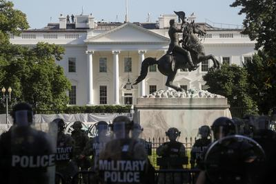 National Guard patrols America's streets as protests rage