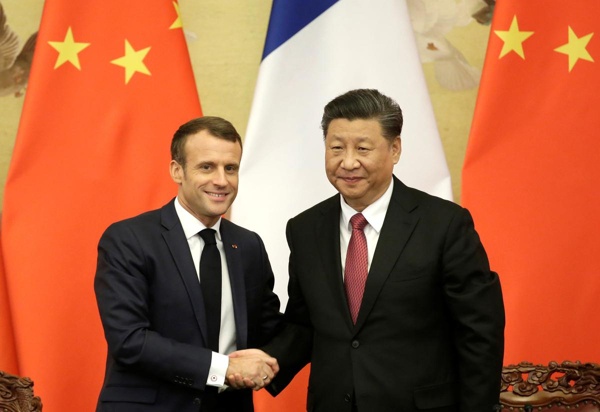 France tells China it still backs 'one country, two systems' for Hong Kong