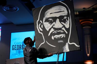 Art of protest against George Floyd's death