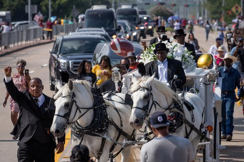 George Floyd laid to rest in Houston