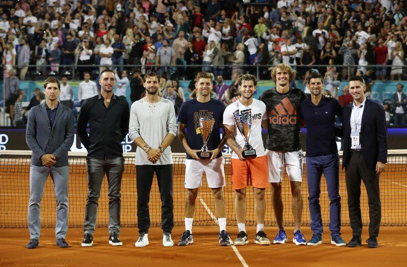 Djokovic breaks down in tears after hosting Belgrade exhibition