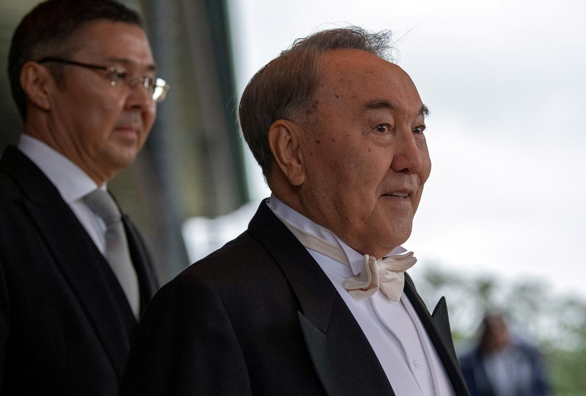 Kazakhstan tightens COVID-19 restrictions, former president tests positive