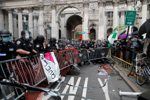 Inside New York's autonomous protest zone
