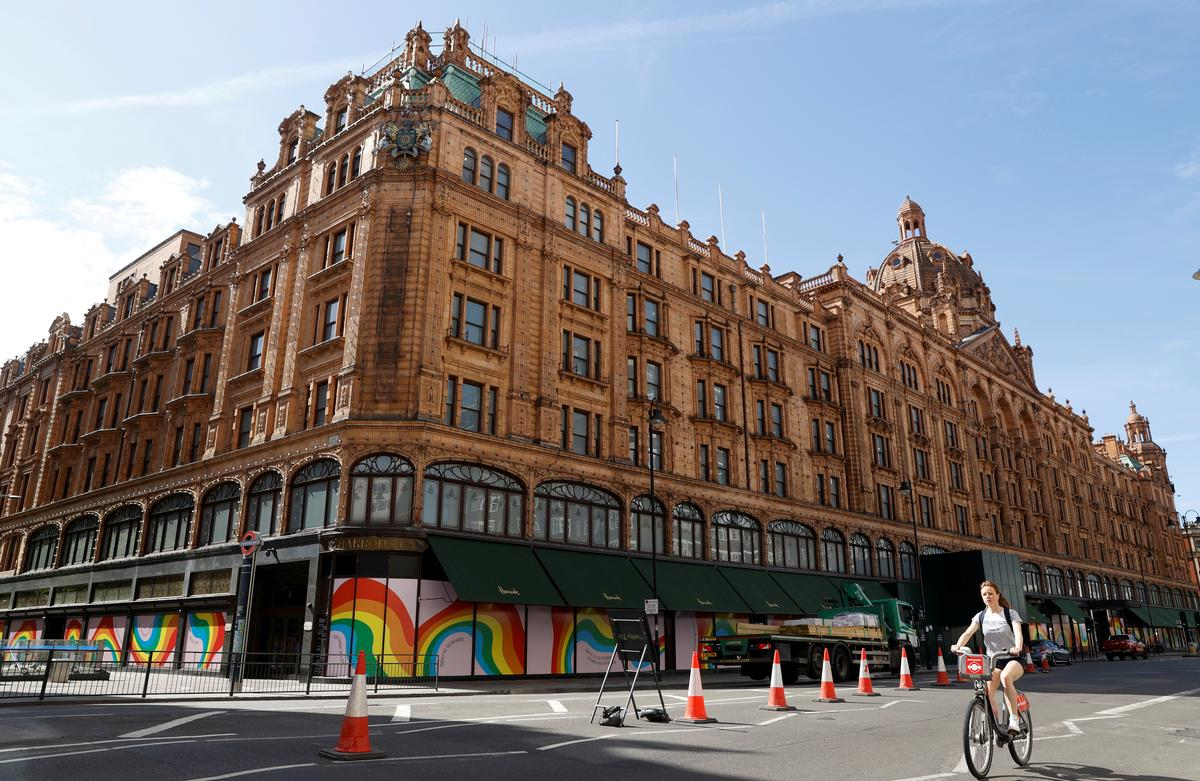 Luxury British department store Harrods to cut nearly 700 jobs