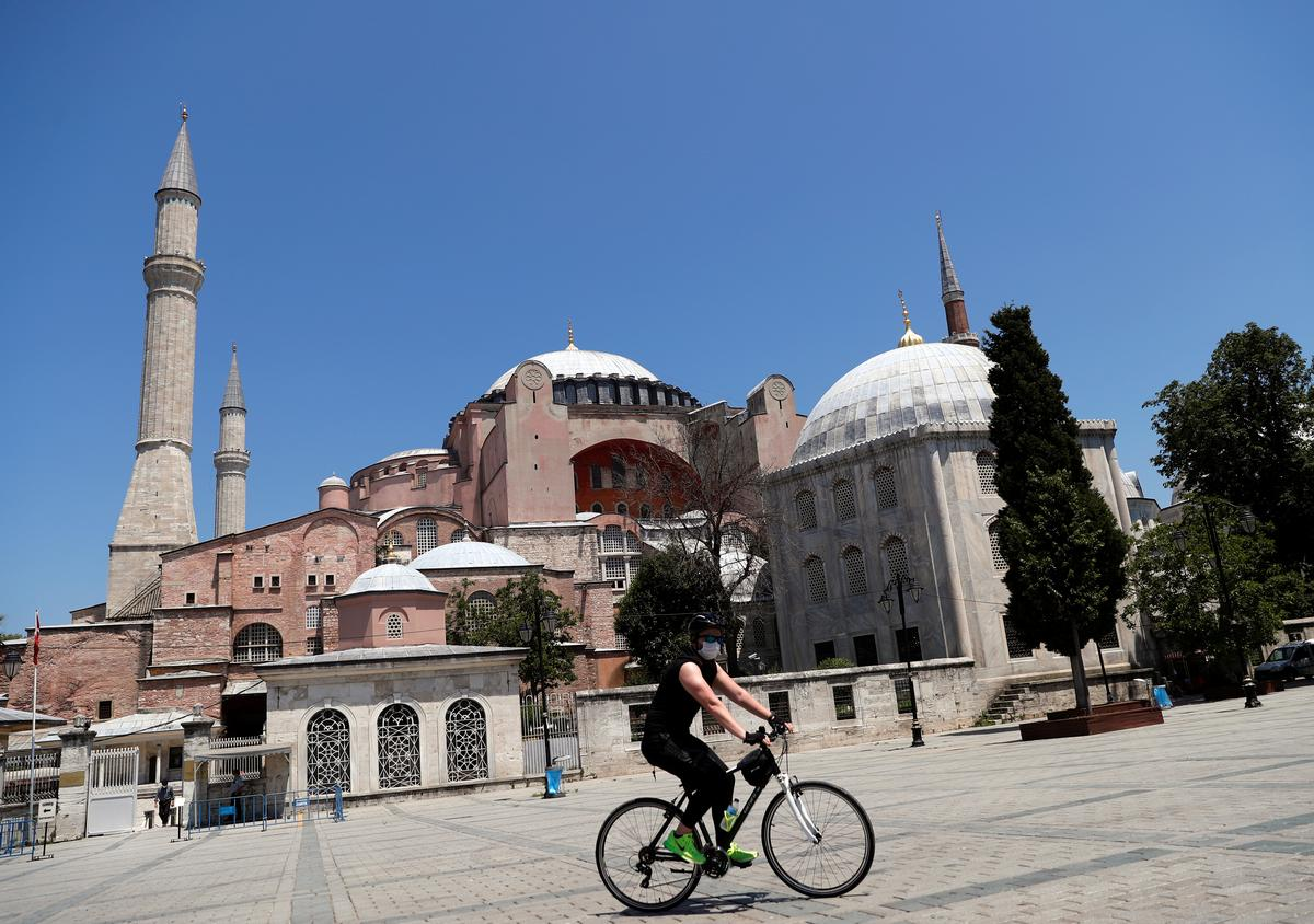 Turkish court weighs bid to turn Hagia Sophia into a mosque