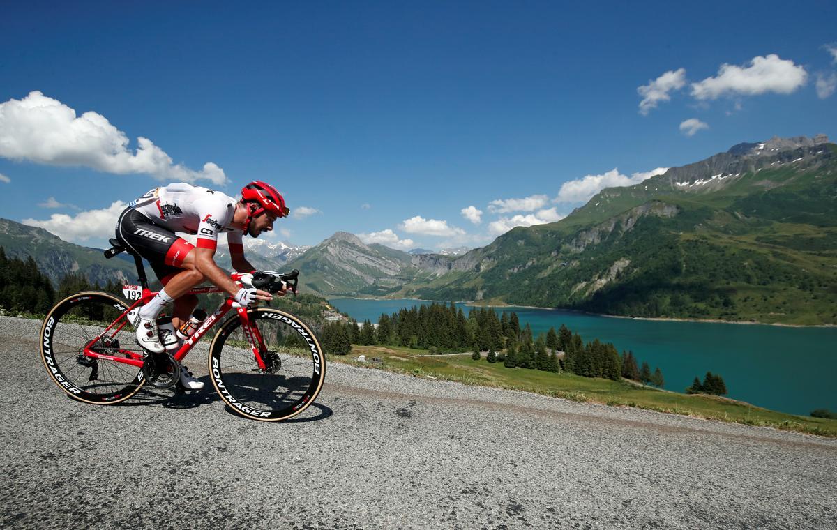 Bernard, Stephens win stage two of virtual Tour de France