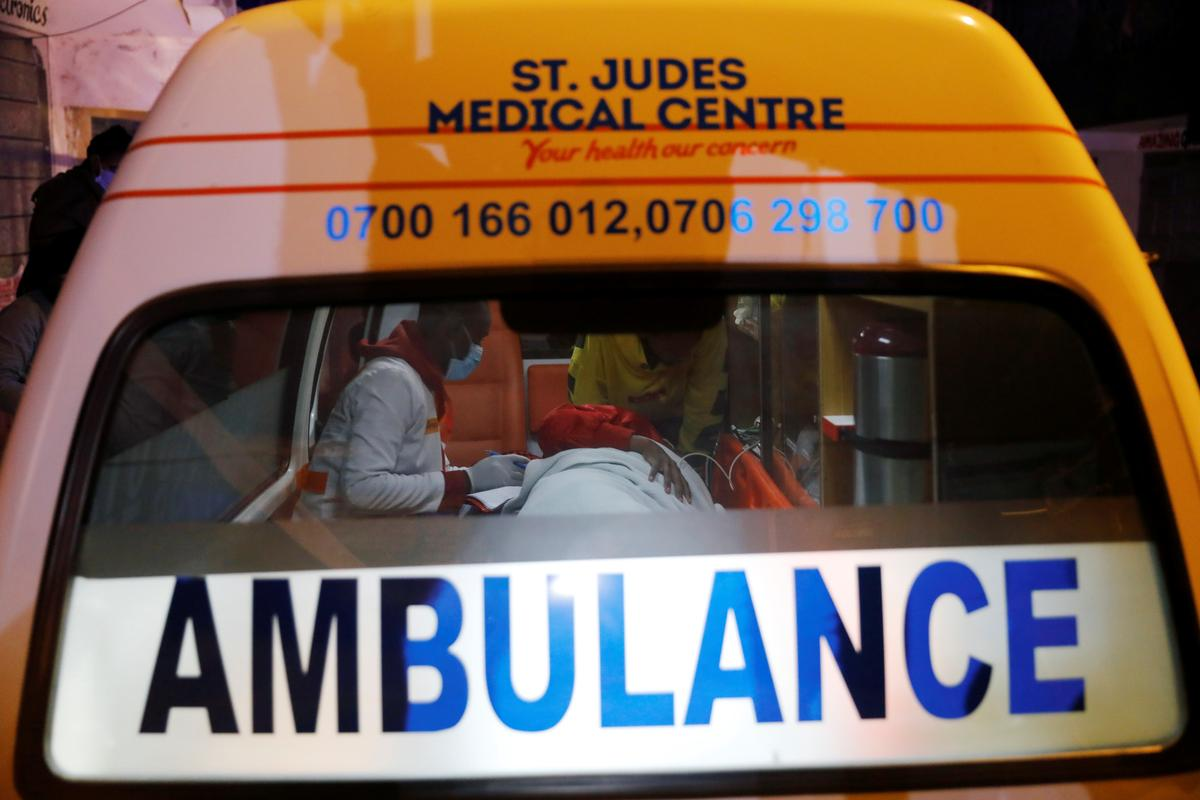 Free ambulance helps save mothers and babies in Kenya lockdown