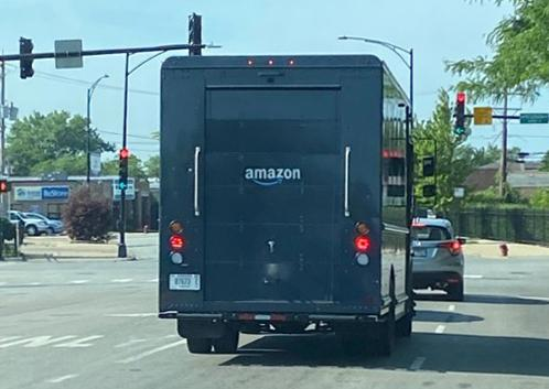 Amazon Using Out Bigger UPS